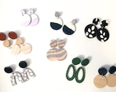 Sale Bin | Slightly Imperfect Polymer ClayEarrings