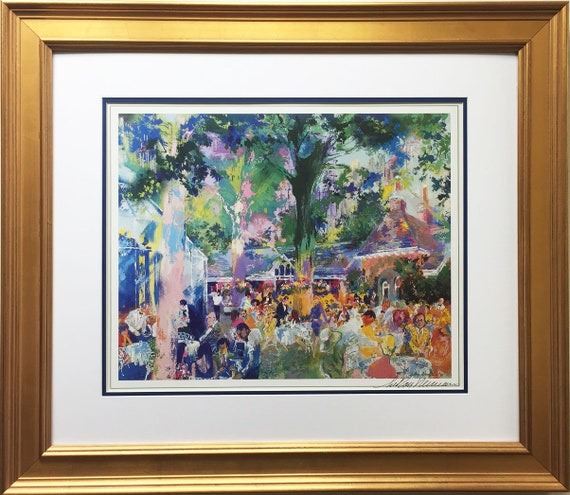 Leroy NEIMAN Signed TAVERN On The GREEN Poster Print