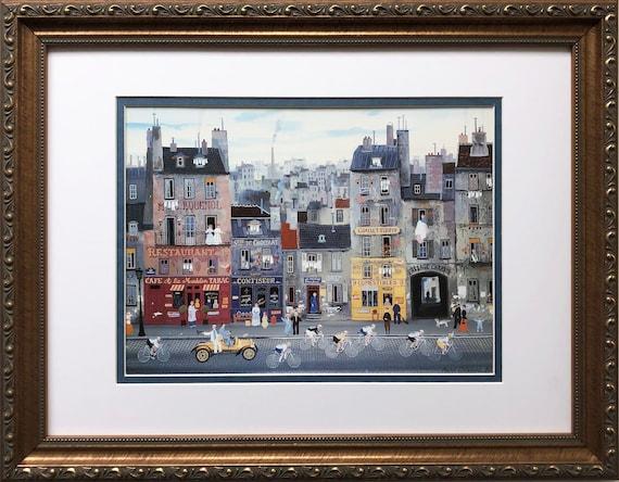 Michel Delacroix Marchand de Farine Limited Lithograph Artwork Print