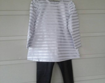 Sparkling Striped Top