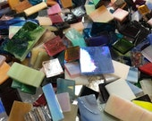 Mosaic Tiles Bulk Premium Stained Glass Studio Mix 1 2lb Tiles Scrap Mosaic Tiles Mosaic Surplus