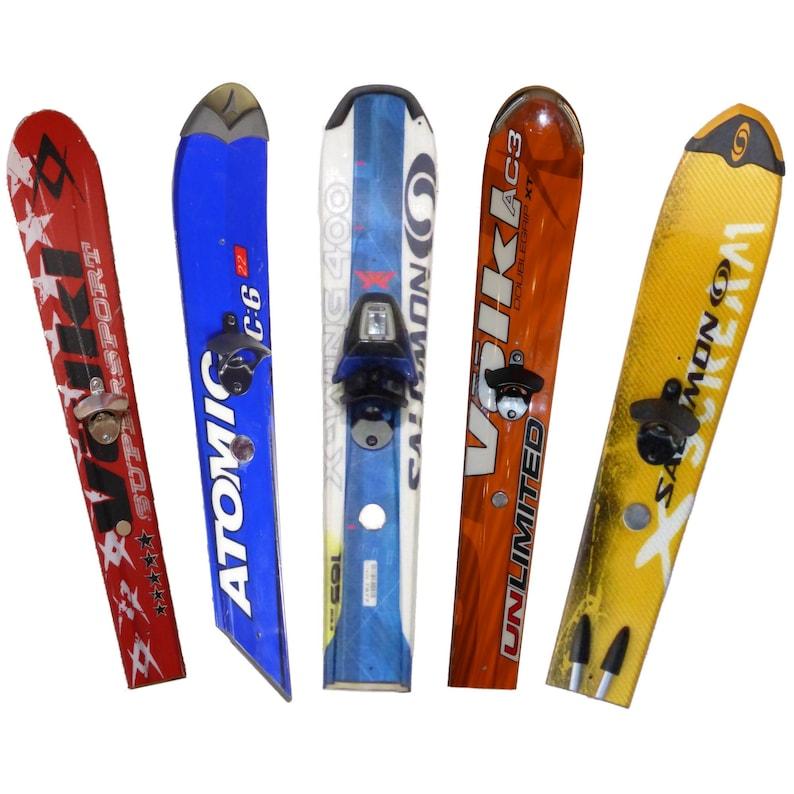 Ski Tip Wall-Mount Bottle Opener w/Magnet image 0