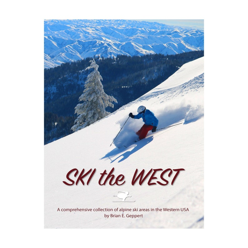 Ski the West book image 0