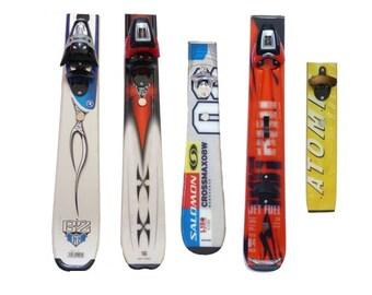Ski Tail Wall-Mount Bottle Opener