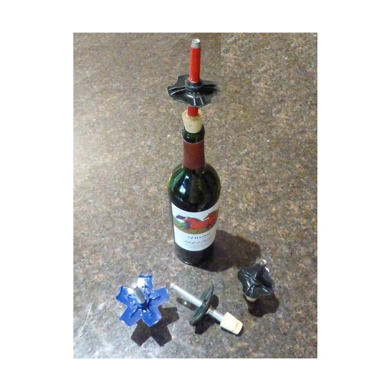 Ski Pole Wine Bottle Stopper image 0