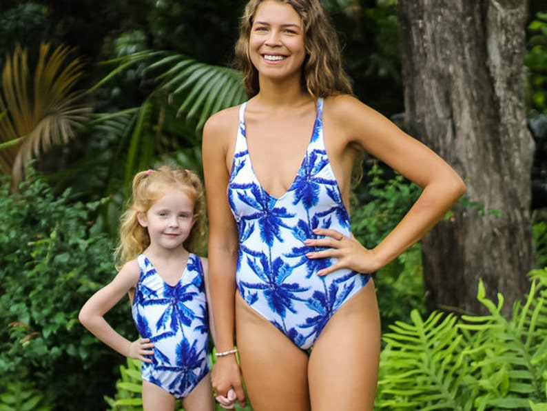 f9139d76198f3 Mommy and me swimsuit / matching swimsuits / family matching | Etsy