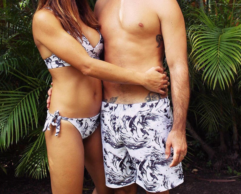 8a969217e1 Matching swimsuits    matching outfit    swimsuits for couple