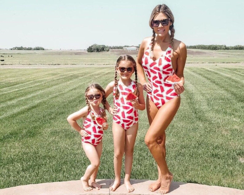 154ed891e6 Mommy and me swimsuit / matching swimsuits / family matching | Etsy