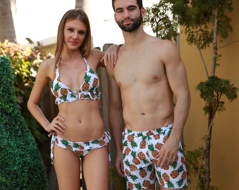 254ed1012b Matching swimsuits    matching outfit    swimsuits for couple