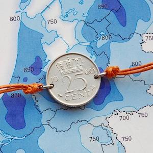 1959 1951-1952 Dutch quarter cuff links in birth year Netherlands 1953-1954 1957-1958 1955-1956 1948-1950