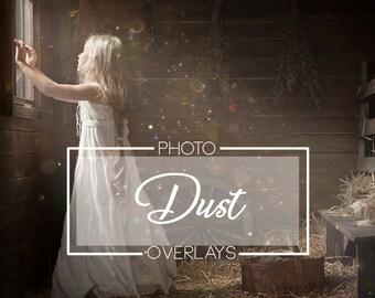 50 Dust photo overlays