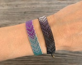 ONE beadloom bracelet with gold clasp