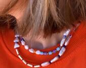 Bluemarlin necklace
