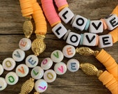 special edition pastel love bracelet
