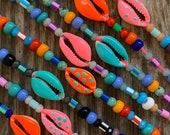 Colorfull cowrie bracelet