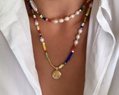 colorful Erica necklace