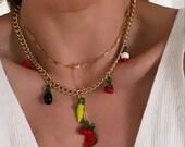 Fruteria chuncky necklace