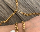 SET: Giti necklace & bracelet