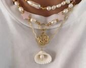 Pastel Erica necklace