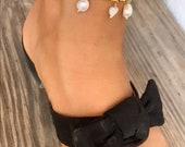 Fine Perla anklet