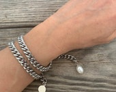 Giti bracelet silver