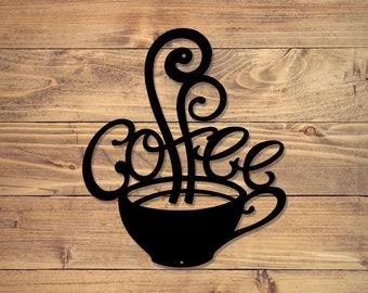Metal Coffee Sign | Metal Signs | Free Shipping