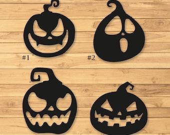 Halloween Pumpkins, Metal Signs, Metal Pumpkin, Halloween decor, Pumpkin Decor, Lawn Sign, Metal Halloween Sign, Jackolantern