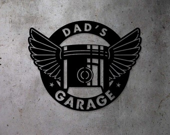 Garage Sign   Automotive Sign   Metal Sign   Free Shipping   Custom Metal Sign