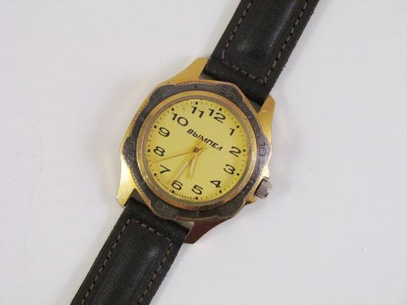Vintage Belarusian Men's Watch VIMPEL 1990s