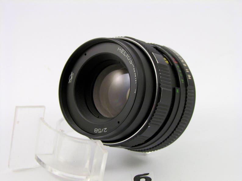 Russian Soviet Helios 44 m4 lens M42 SLR DSLR camera Praktica Pentax Zenit 880698