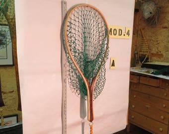 The Optimist, A Handmade Wooden Landing Net
