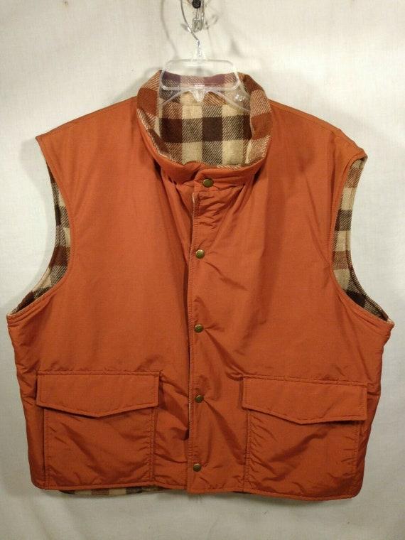 Vtg Rare Mens Woolrich Vest XL  Sport Western  USA