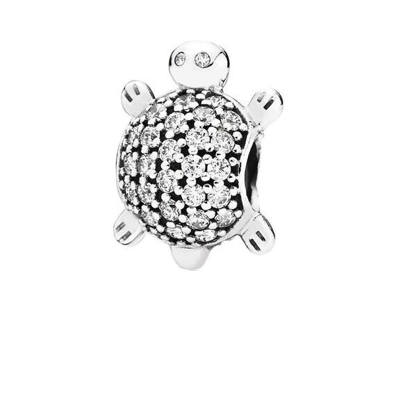 Bolsa De Regalo Antiguos plateado Tortuga Charm Bead Fits europeo encanto Pulseras