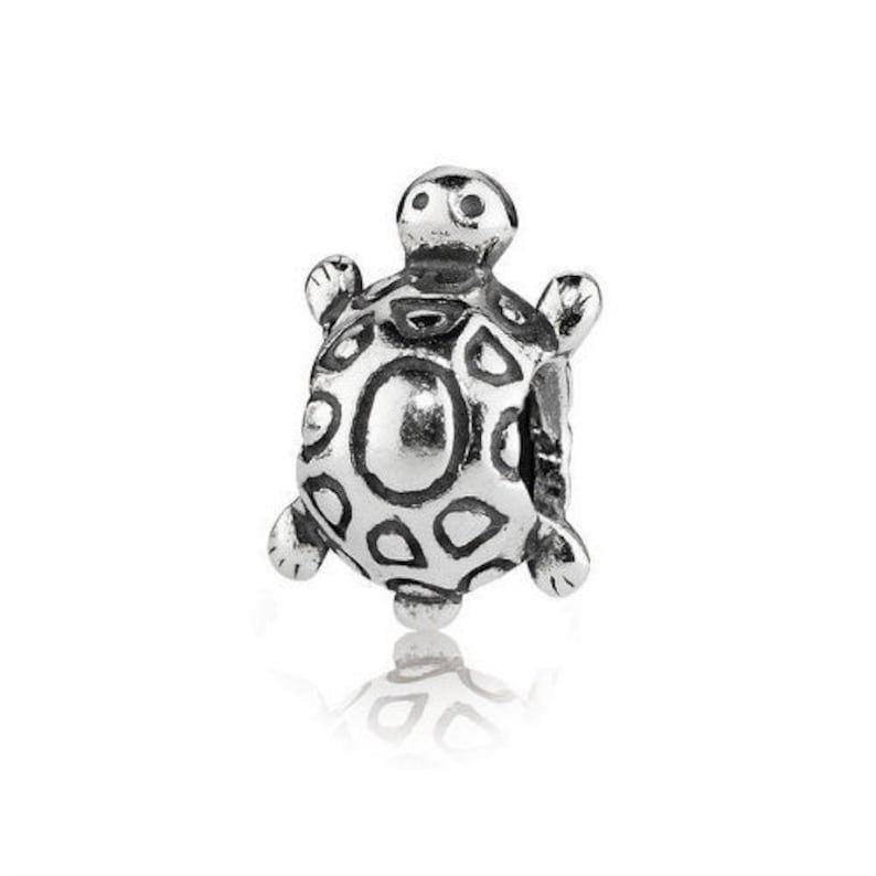 50e0f513d Pandora Turtle Charm 790158 S925 ALE Sterling Silver Charm | Etsy