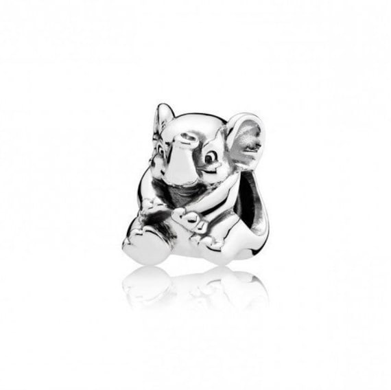 271e8deece870 Pandora Lucky Elephant Charm 791902 - Sterling Silver Charm | ALES925  Authentic Sterlign Silver European Charm