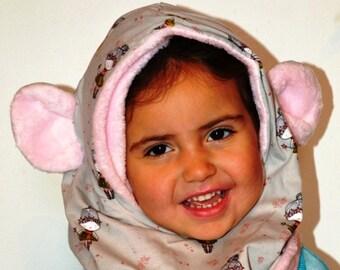 4c26059a029c Cagoule bébé   enfant réversible