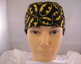 Men's Scrub Hat Batman