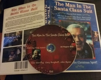 The Man in The Santa Claus Suit - Fred Astaire Dvd FREE SHIPPING