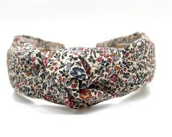 Women's Knot Headband, Fall Headband, Liberty Katie & Millie Print Headband
