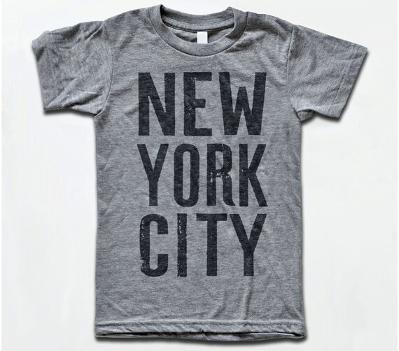 New York City T Shirt NYC Vintage Tri-Blend Apparel Tees  e5b5e907d9f