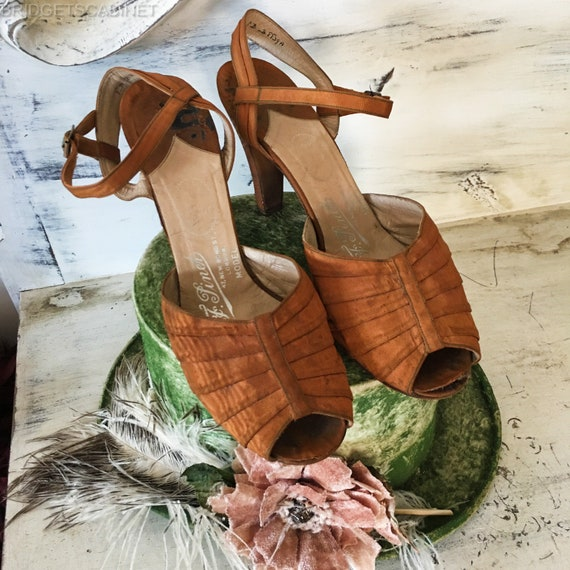 Original 1920 ' s Flapper chaussures chaussures chaussures Gatsby Charleston Pinnet F. | Vendant Bien Partout Dans Le Monde  3292b6