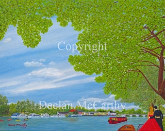The River Shannon at Roosky 24x18