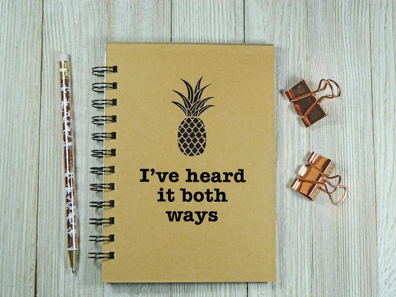 I/'ve heard it both ways Psych inspired notebookjournal