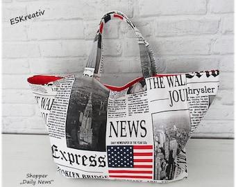 SHOPPER / HENKELTASCHE / Tote bag large