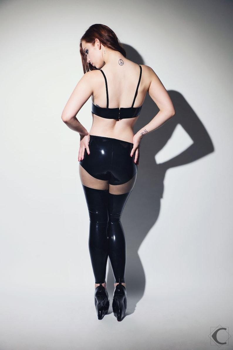 Latex leggings hot