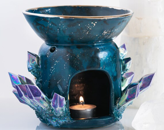Made-To-Order: Aurora Borealis Oil Warmer