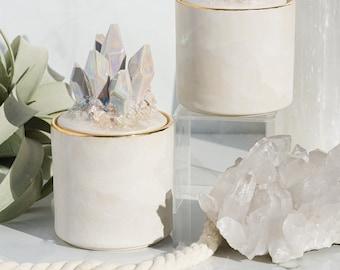 Aura Prism & Gold Pickle Jars