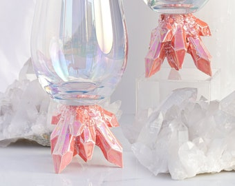 Aura Crystal Wine Glasses (Set of Two)