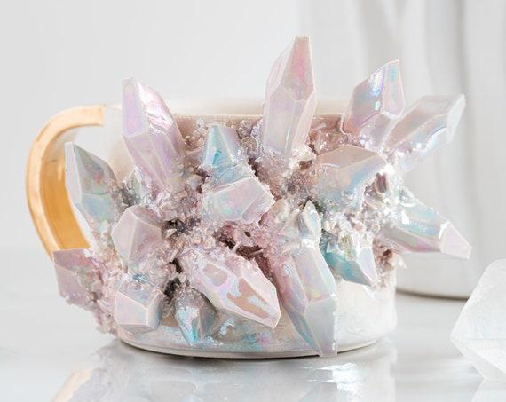 Made-To-Order: Aura Prism Crystal Mug