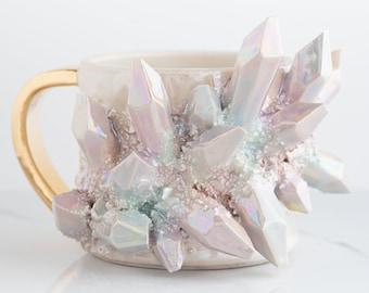 Aura Prism Crystal Mug